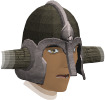 Warrior helm chathead