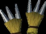 Werewolf claws (gold, male)