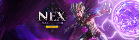 Angel of Death head banner