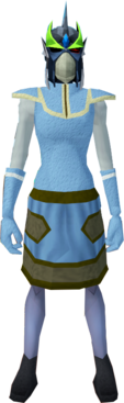 Full slayer helmet (cf) (green) equipped