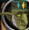 Priest goblin chathead