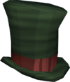 Top hat (green) detail