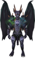 Attuned King Black Dragon outfit equipped.png