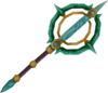Attuned crystal wand detail
