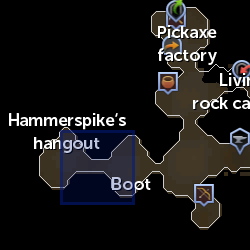 Dwarf (2017 Easter event) location