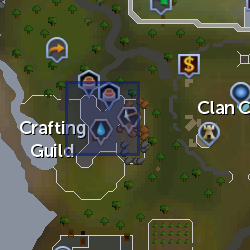 Master Crafter location