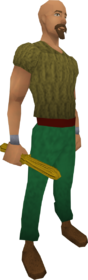 Oak-blackjack equipped