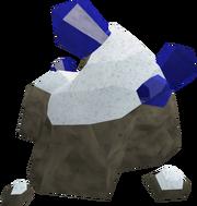 Sapphire rocks