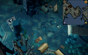 Scan clue Heart of Gielinor west of first threshold to Gregorovic