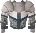 White chainbody detail