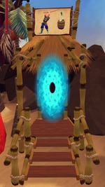 Fish Flingers portal