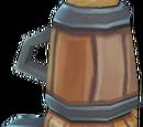 Heated tea flask