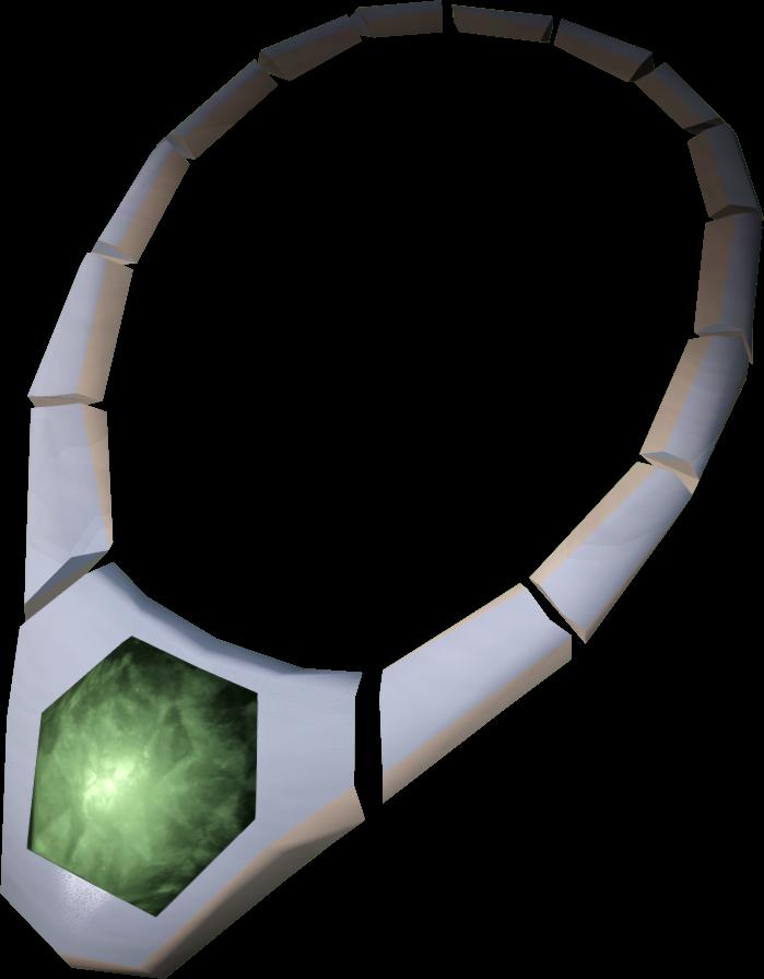 Jade necklace RuneScape Wiki
