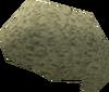 Light grey afro detail