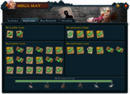 Mega May (Meg's cases) interface