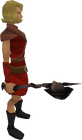 Obsidian maul equipped