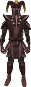 Promethium plate armour set (lg) (male) equipped