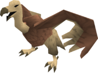 Vulture (pink) pet