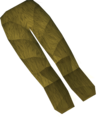 Werewolf legs (gold, female) detail