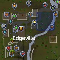 Ancient relic (Edgeville) location