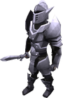 Animated mithril armour