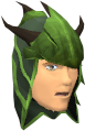 Blessed dragonhide coif (Guthix) chathead
