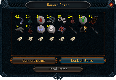 Dominion tower reward chest interface
