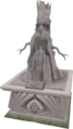 2009 Evil Tree statue.png