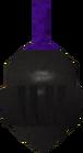 Black full helm detail old