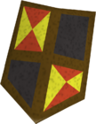 Black shield (h4) detail old