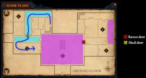 Broken Home - Dagger door - ground floor