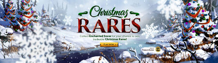 Christmas Rares head banner
