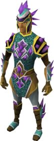 Dragonstone armour equipped