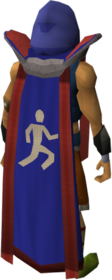 Retro agility cape (t) equipped