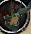Shadow Gorilla Head chathead