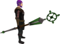 Ancient staff (green) equipped.png