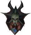 Augmented malevolent kiteshield detail