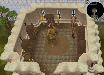 Cryptic clue Mage Training Arena