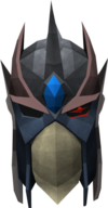 Full slayer helmet (uncharged) (red) detail
