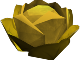 Gilded cabbage
