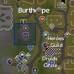 Gnome Shopkeeper location