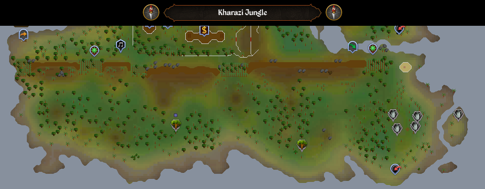 Kharazi Jungle scan