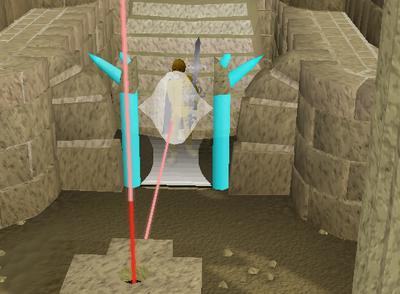 MEP2 tempel licht deur