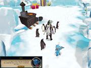 Penguins surround you