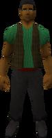 Retro waistcoat (male)