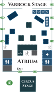 RuneFest 2017 Floor Plan - Ground Floor