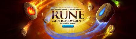 Rune Value Improvements head banner