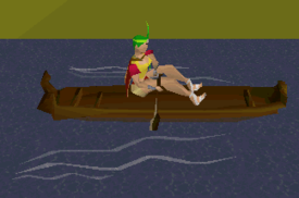 Runescape features canoes-paddle