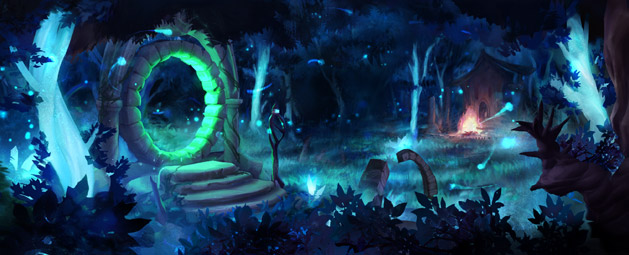 The Light Within update post header