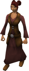 Zamorakian herbalist's wife